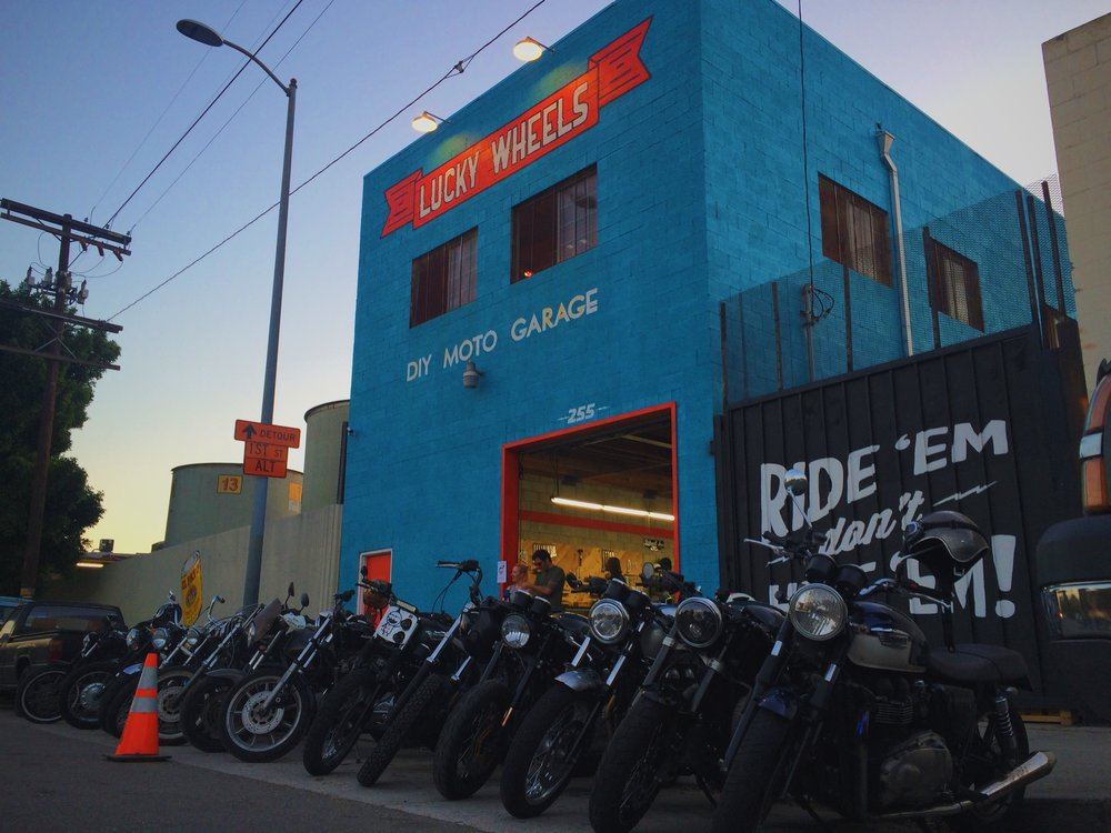 Blog babes ride out lucky wheels garage says do it yourself solutioingenieria Images