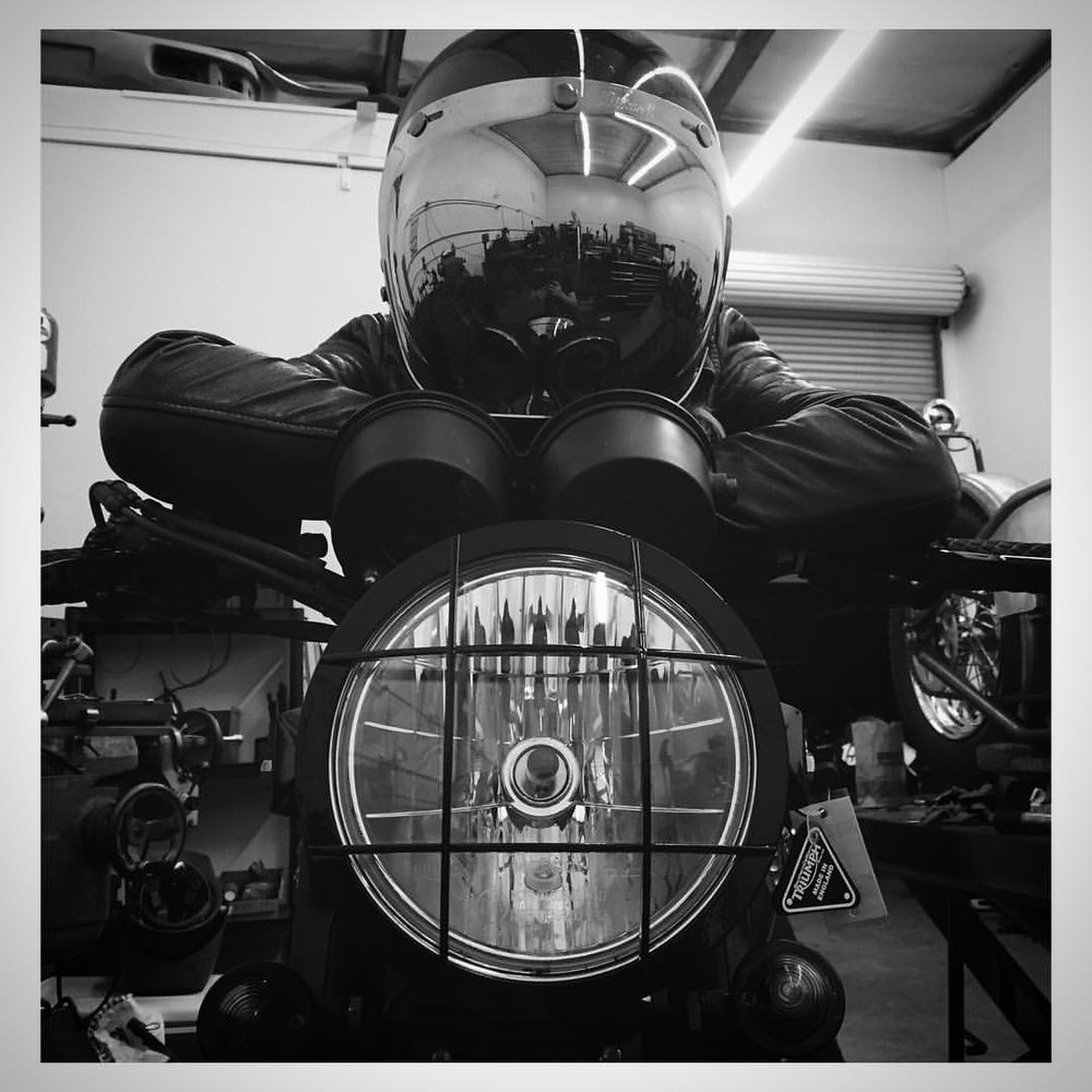 Headlight grill by Iron Cobras Fabrication