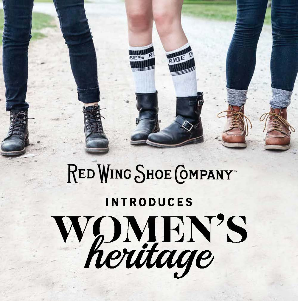 16f34c225bb Red Wing Heritage Womens Collection — Babes Ride Out