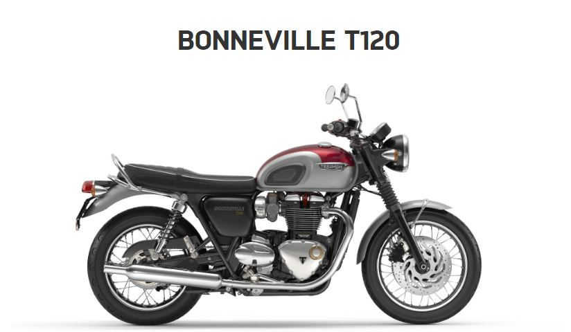The Triumph Bonneville T120
