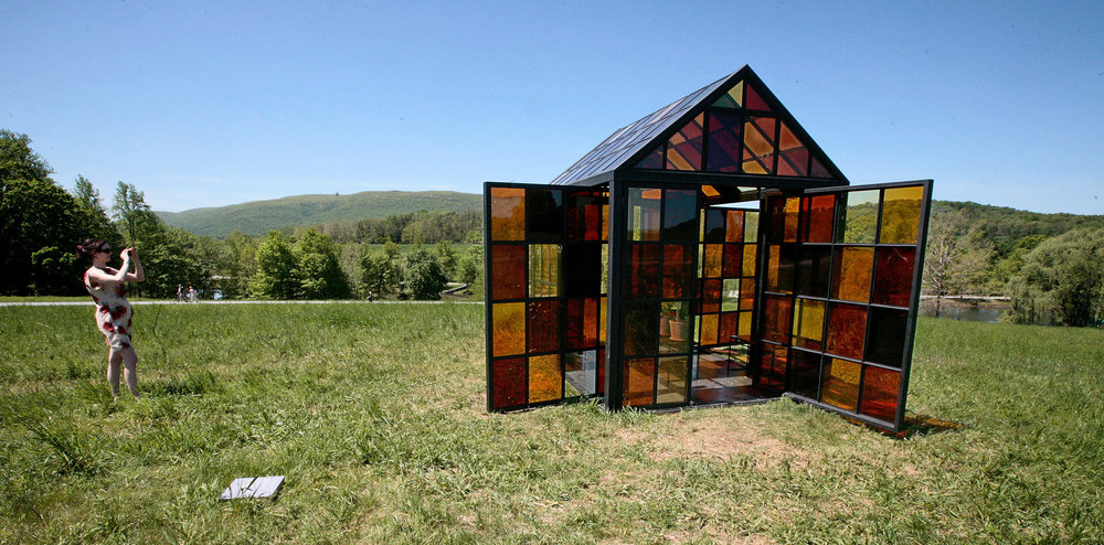 DESTINATION: Storm King Art Center is 500 acres of beautiful sculptures! 74 miles from camp, this is an excellent day ride!