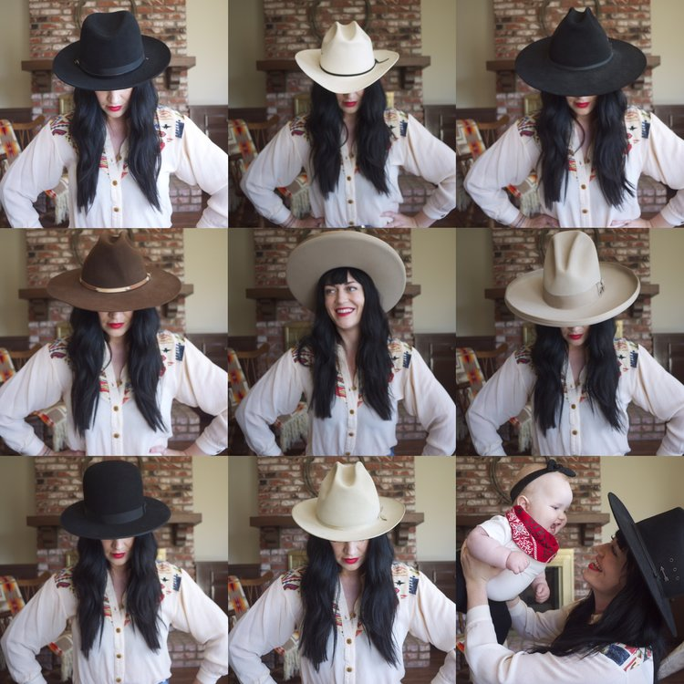 d0a339f86775f 1  Legendary Collection 3x Calvary Hat 2  100x Straw Shantung Rancher  Cowboy Hat 3