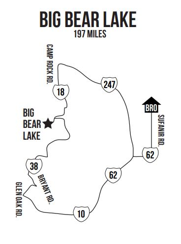 Big Bear Map Babes Ride Out.JPG