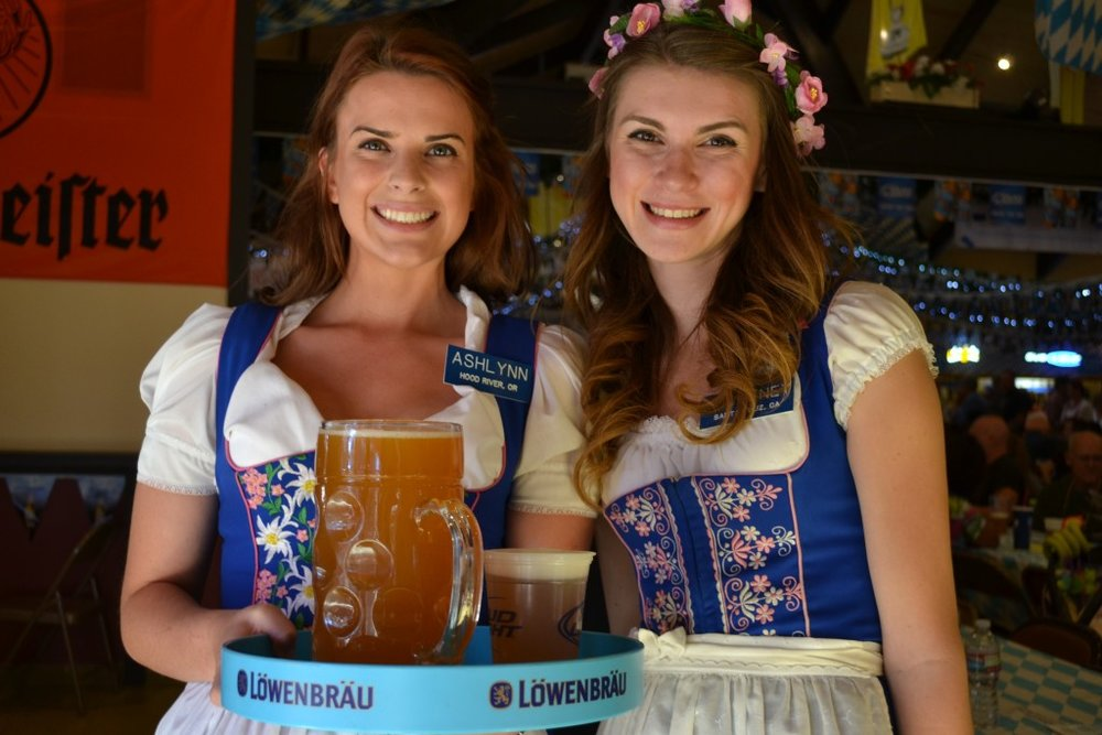 Ladies of Big Bear celebrating Oktoberfest! Stop by and hear live music, eat some pretzels, and enjoy the fun!