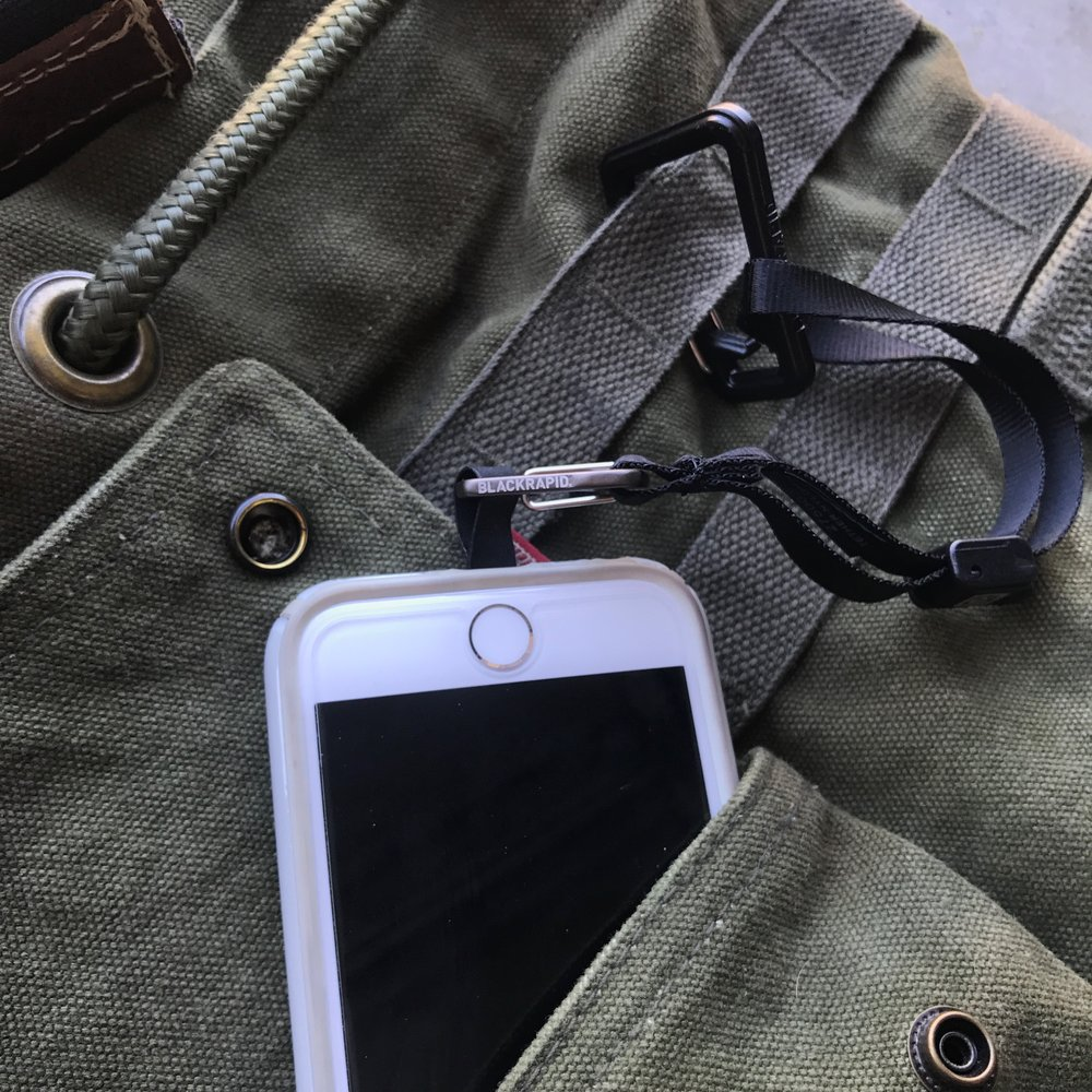 Strap or clip to your wrist, belt loop, or your duffle bag and never lose your smart phone again.