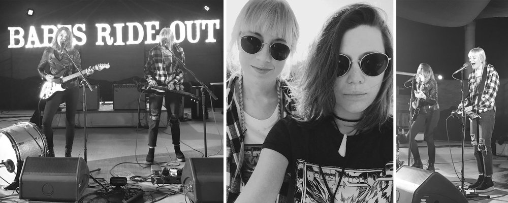 These two little ladies from Atlanta, Georgia brought a big ol' sound to Babes Ride Out 5. Larkin Poe blew our minds! So much talent coming from these babes and we are honored to have had them play our event! Check out their album  Peach out now!!!