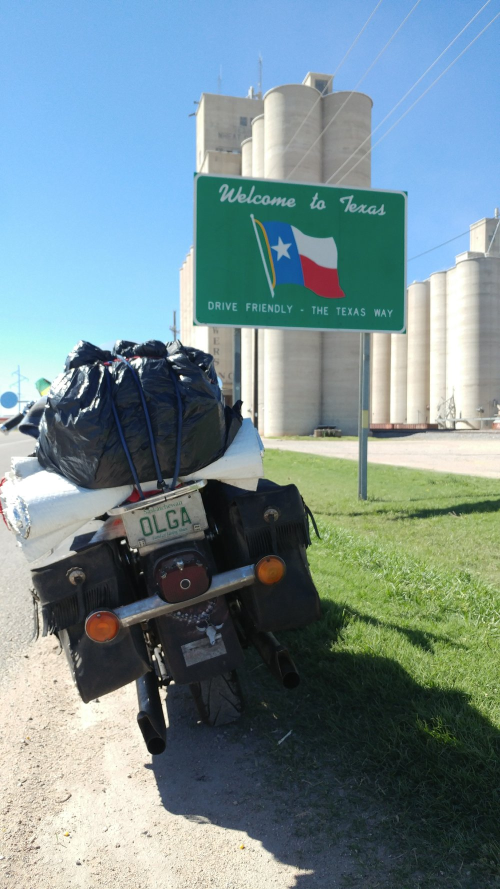 Texas on Highway 83