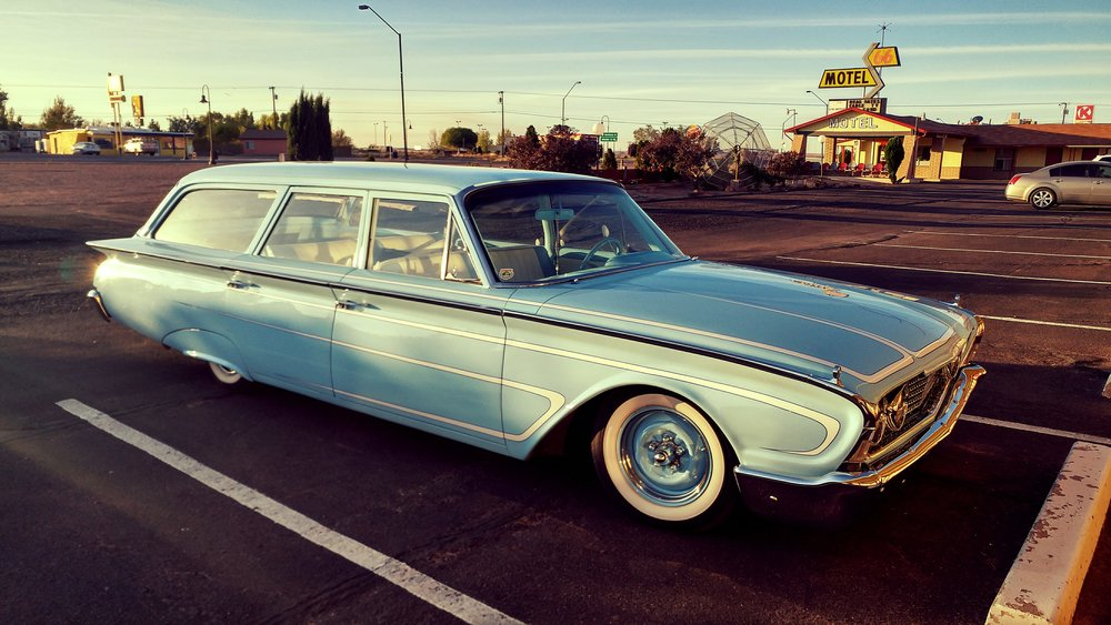 1960 Ford car – Holbrook Arizona