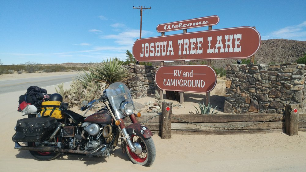 Joshua Tree RV and Campground – I've finally made it to the Babes Ride Out Venue!