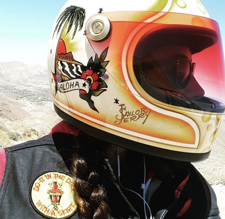 Ashley Marsh, brand ambassador for Sailor Jerry and one of our favorite rippers!