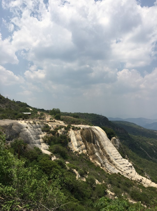 "Another view of ""Hierve el Agua"""