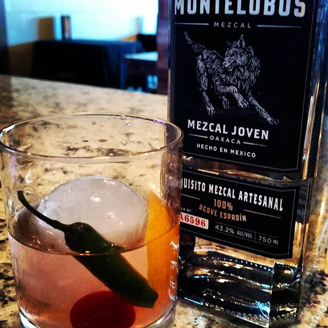 Timeless will be closed for lunch but OPEN for dinner this evening...come enjoy an Oaxaca Old Fashioned made with Montelobos Mezcal, agave nectar, orange bitters and hint of Serrano for those of you who need a little heat after the blizzard!! #timeless #oaxacaoldfashioned #craftcocktails