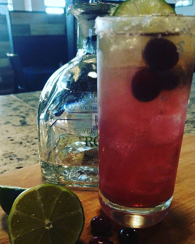 Cranberry Margarita? Yes please!! #timeless #craftcocktails #margarita