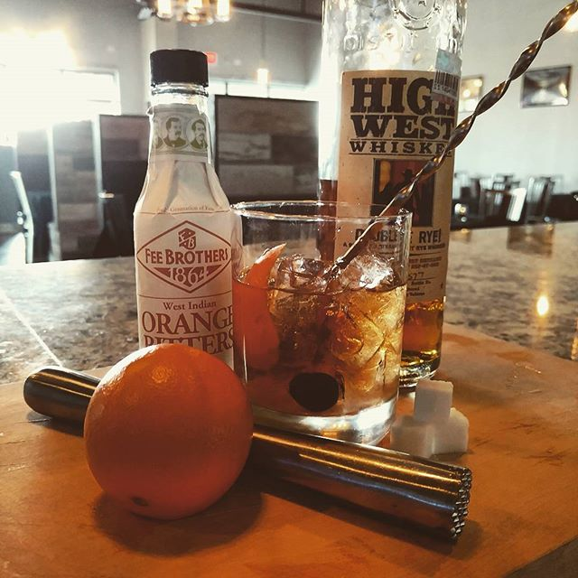 A Classic Old Fashioned featuring High West Whiskey Double Rye #timeless #classiccocktails