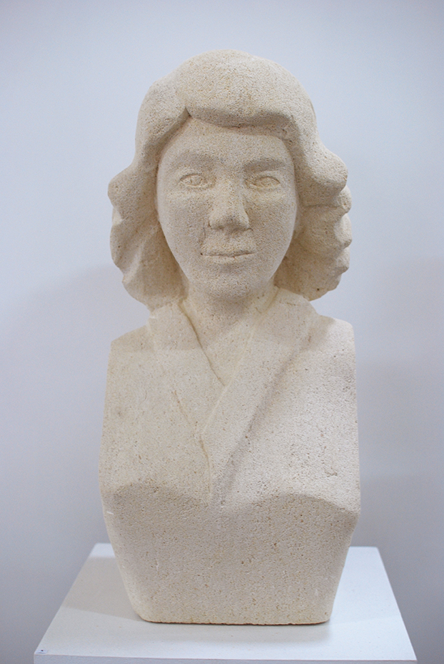 Copy of 'Blondie', 2012, Limestone, Sam Eller.