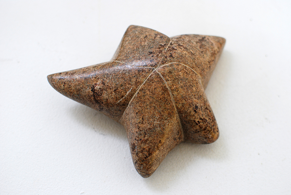 Copy of 'Sun-tanned Starfish', 2014, Soapstone, Gloria Albornoz.