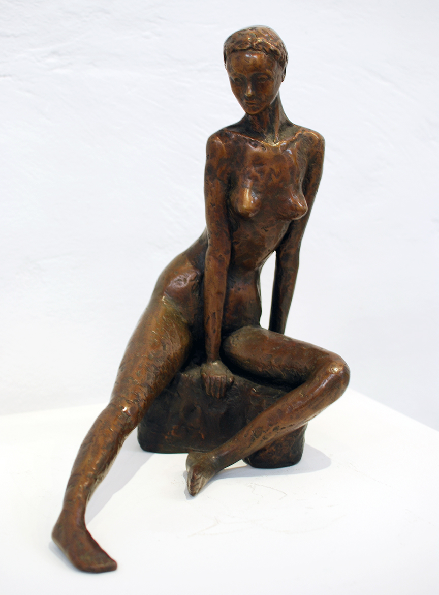 Copy of 'Studio Nude I', bronze, limited edition 7/9, $3,800