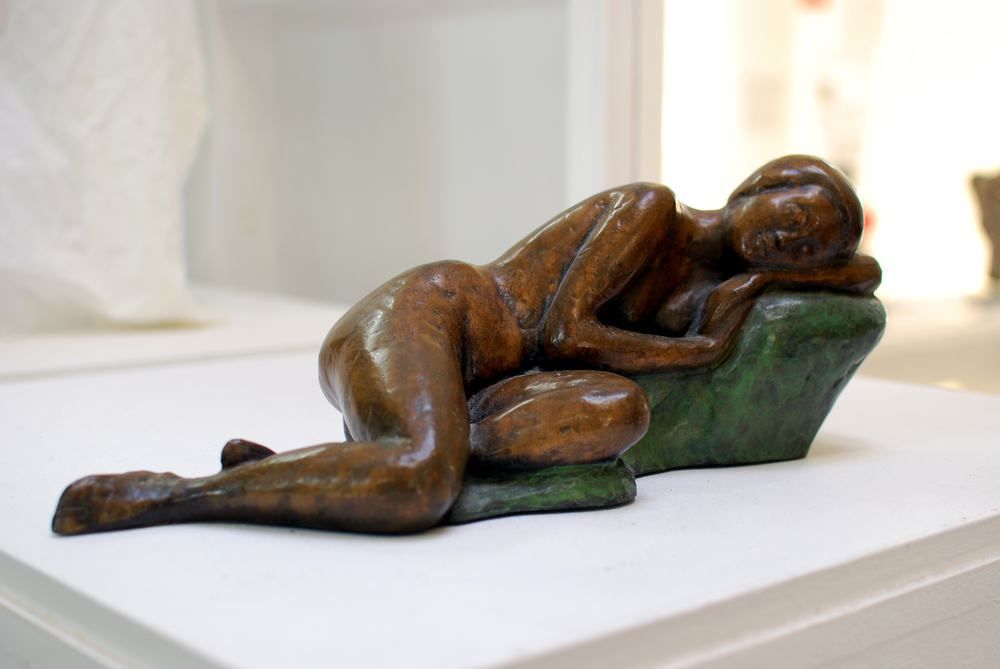 Copy of 'Rest', bronze, limited edition of 9 A/P, $3,800