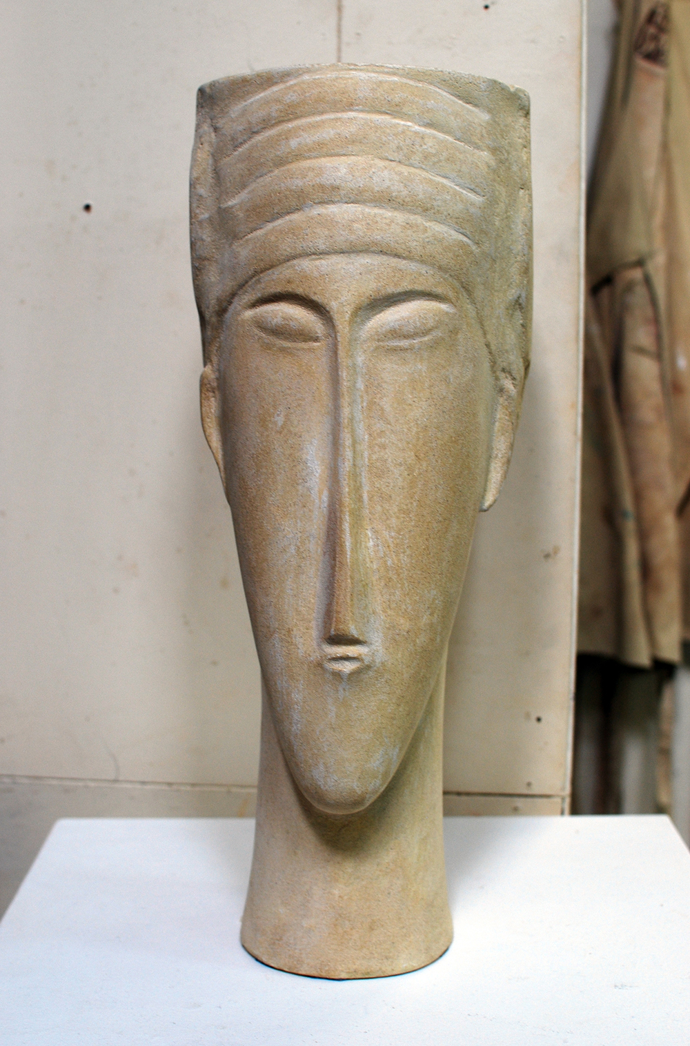 Copy of 'Modigliani Study', cement, $1,150