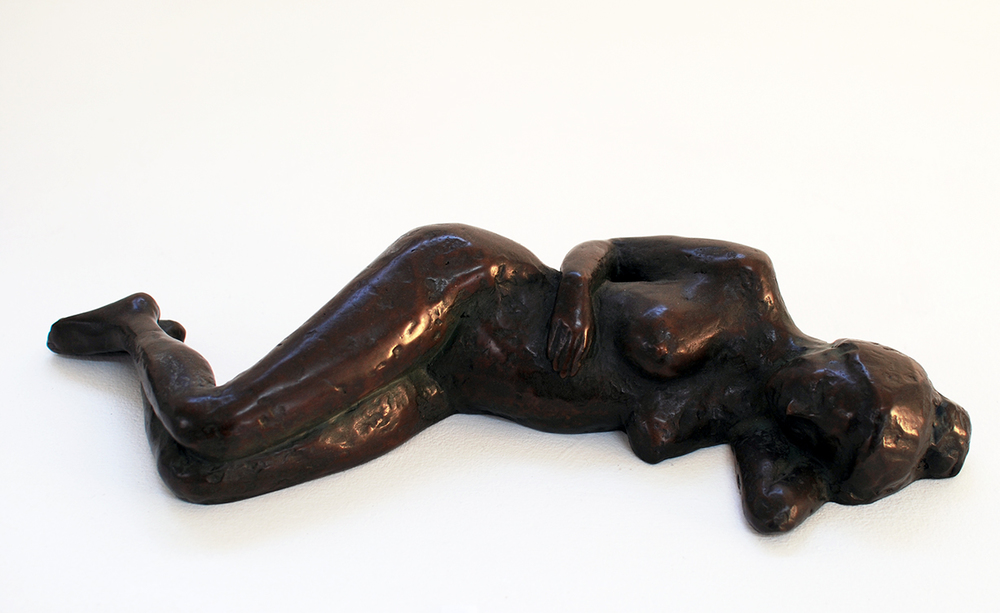 Copy of Studio Nude II, bronze, limited edition of 9 A/P, $3,200