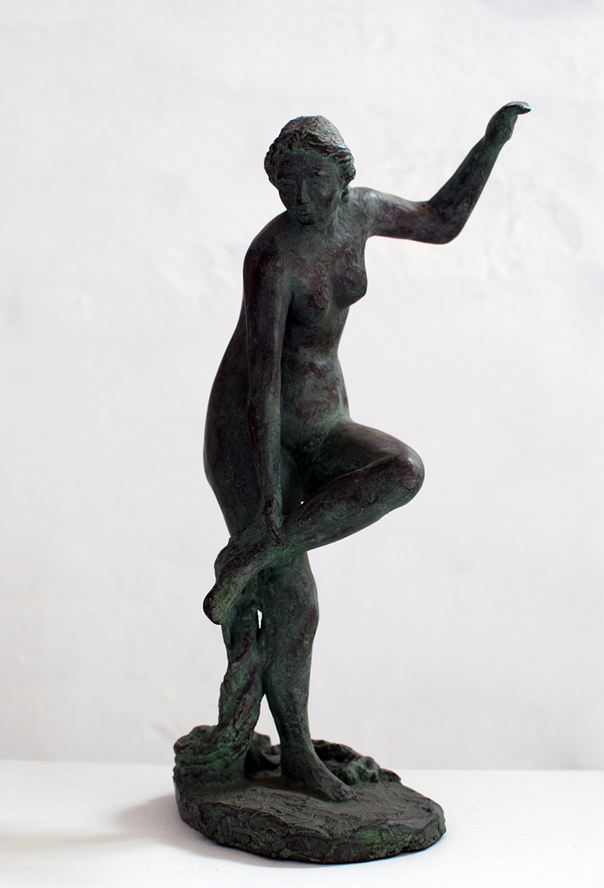 Copy of 'Aphrodite Removing Sandal', plaster, $700