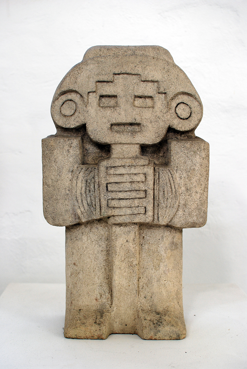 Copy of 'Idol', limestone, NFS