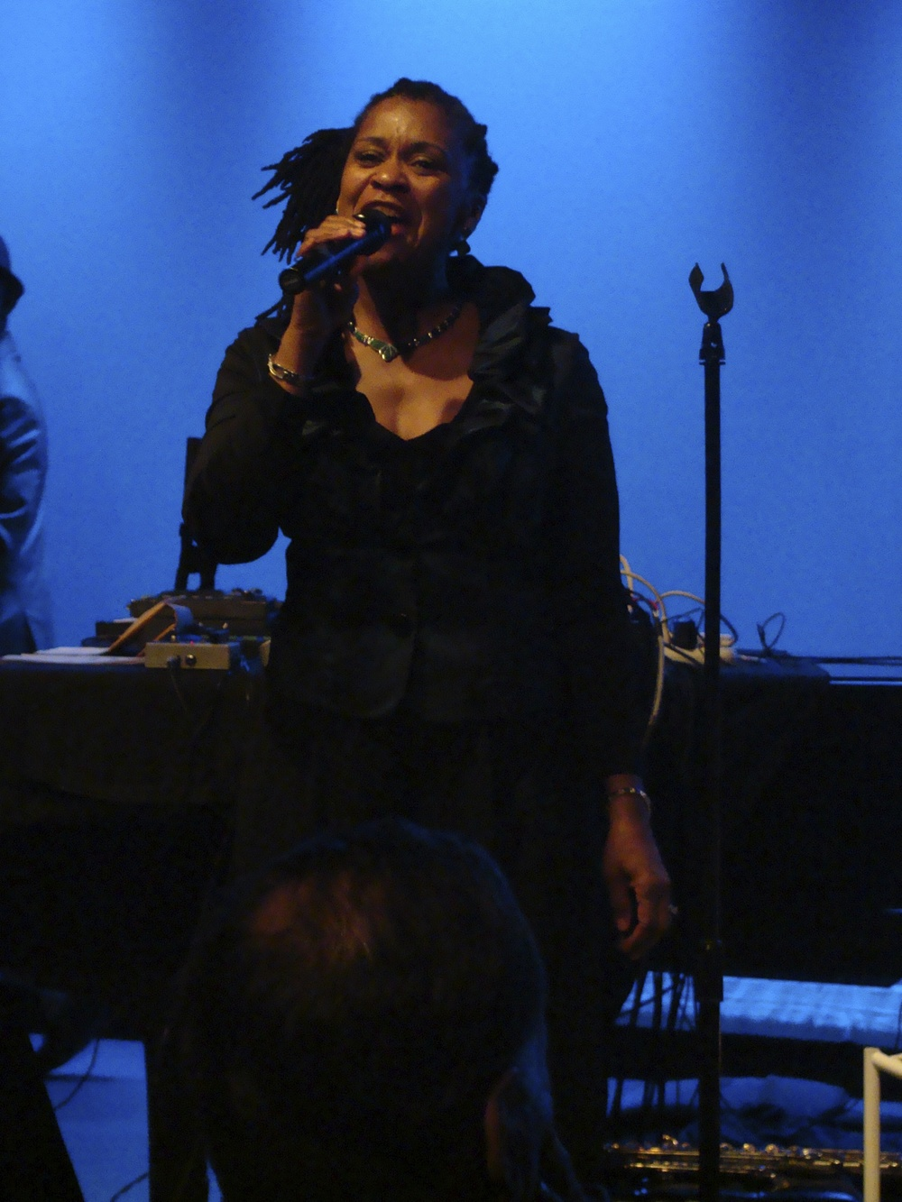 Lenora Zenzalai Helm w/NCCU Jazz Faculty