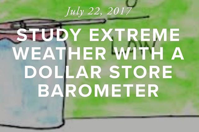 New #DollarStoreSTEM lesson... http://www.aliciaclane.com/dollarstorestem/lessons/dollarbarometer  Photo cred: Easy Science For Kids