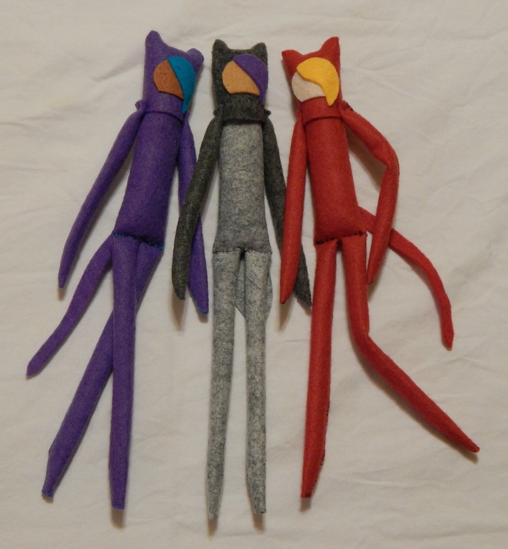 5 - Cat Girl art dolls.jpg