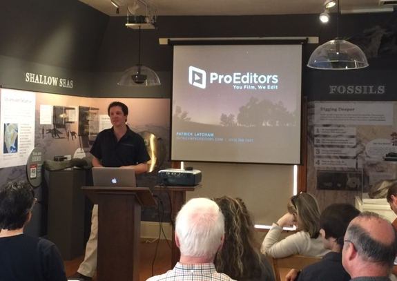ProEditors presents at Telluride Angels Pitch Day