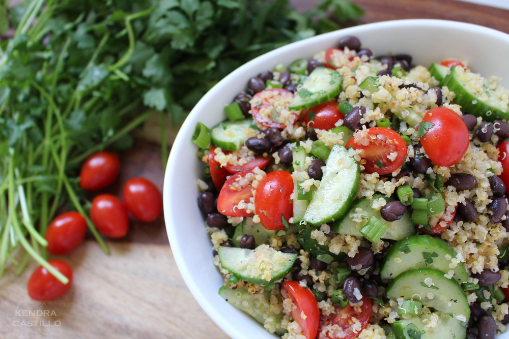 BlackBean & Quinoa Salad.1