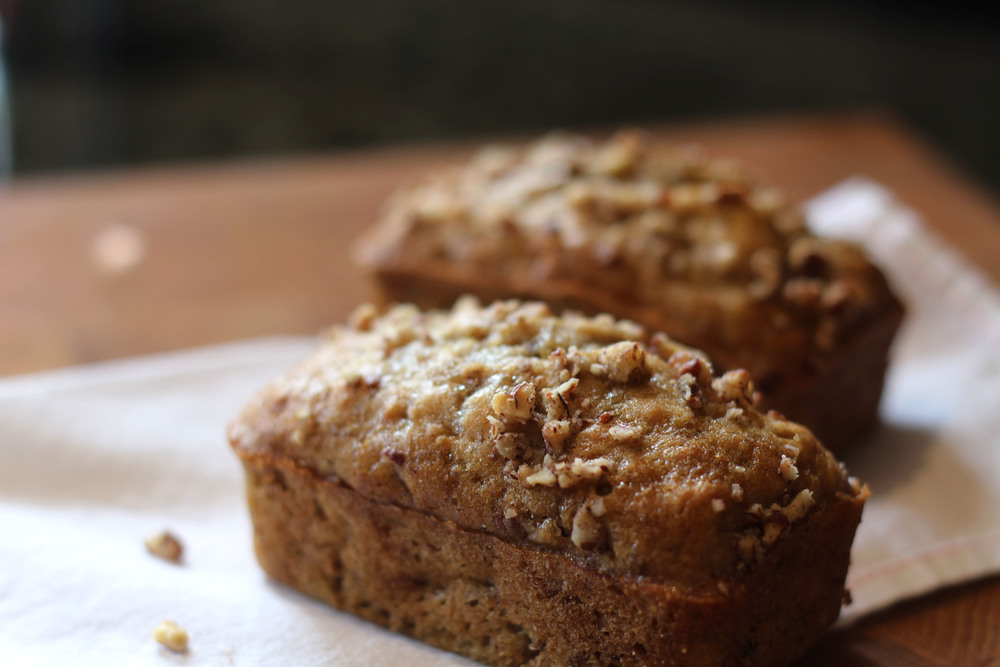 Gluten Free Mini Banana Loaf Recipe - Kendra Castillo