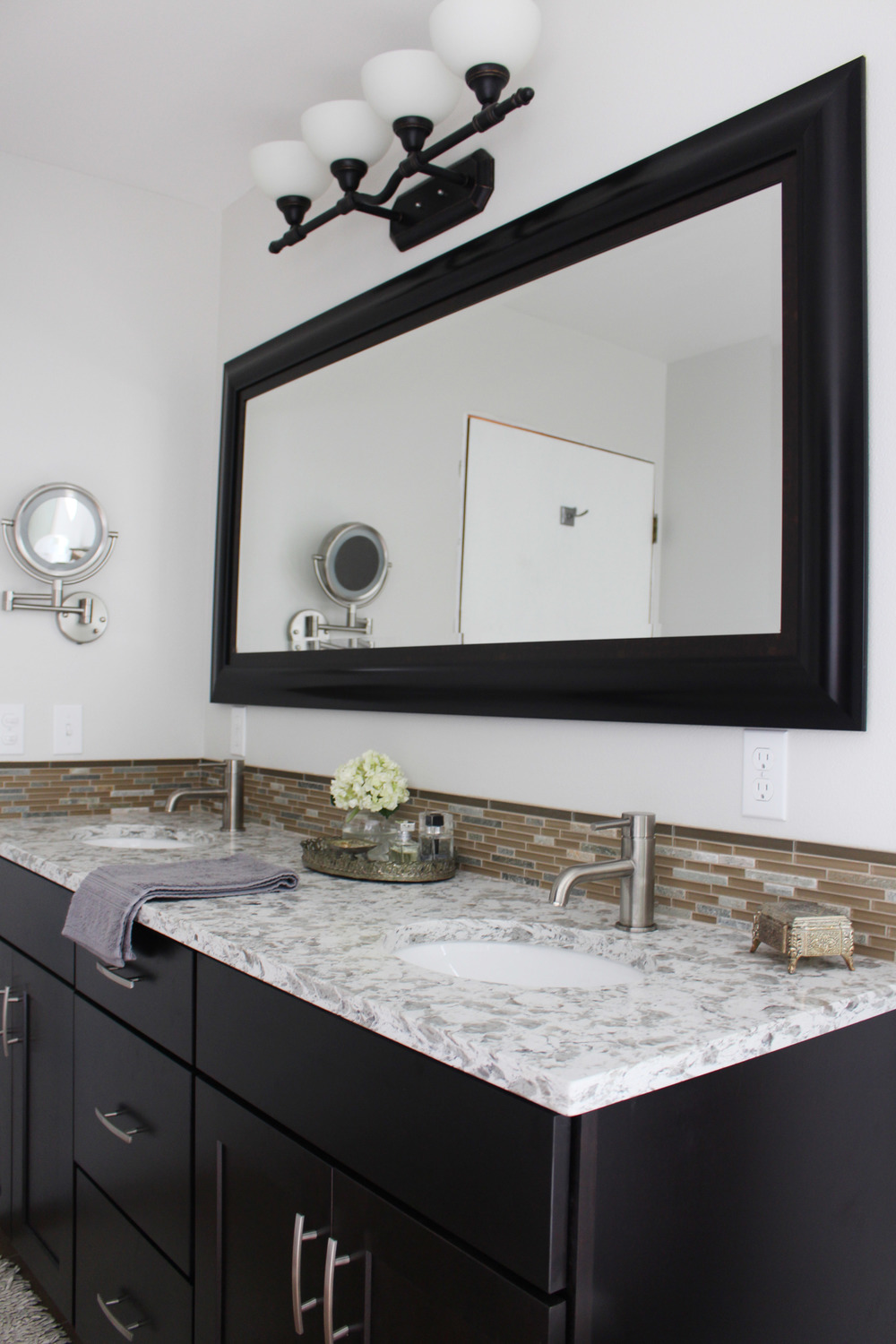 Client Reveal: modern Master Bathroom suite — Kendra Castillo