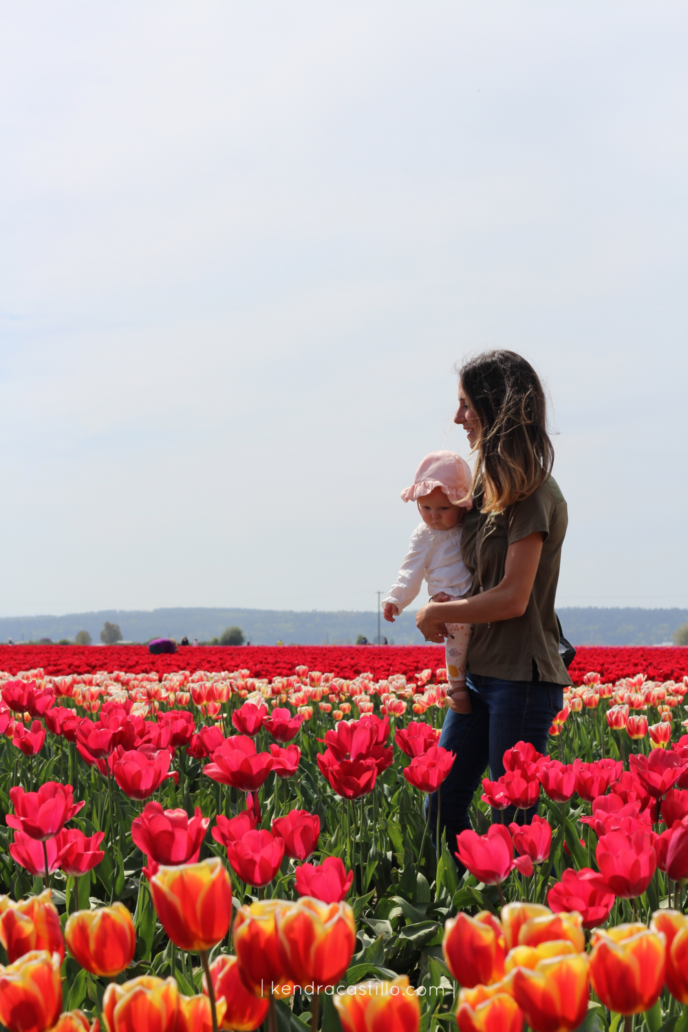 Visiting The Tulip Fields in Mount Vernon Washinton - Kendra Castillo