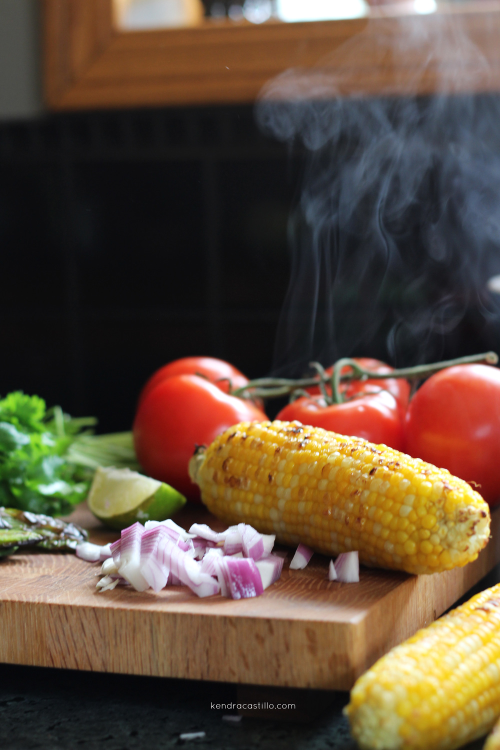Roasted Corn Salsa Recipe - Kendra Castillo
