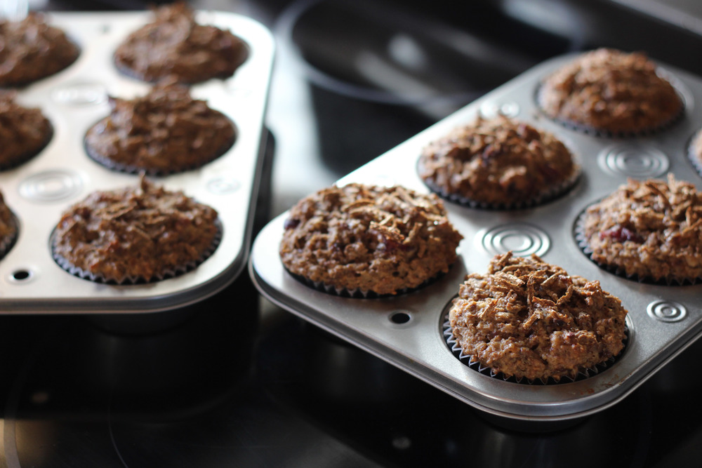 Kendra Castillo: Cranberry & Raisin Bran Muffin Recipe