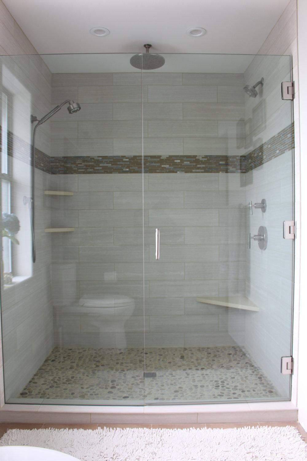 Kendra Castillo: Master Bathroom Remodel, Before & After