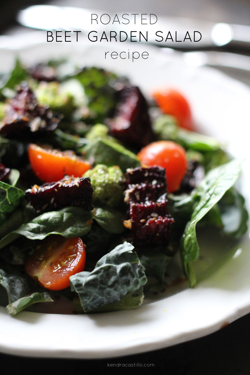Kendra Castillo: Seasonal Roasted Beet Garden Salad