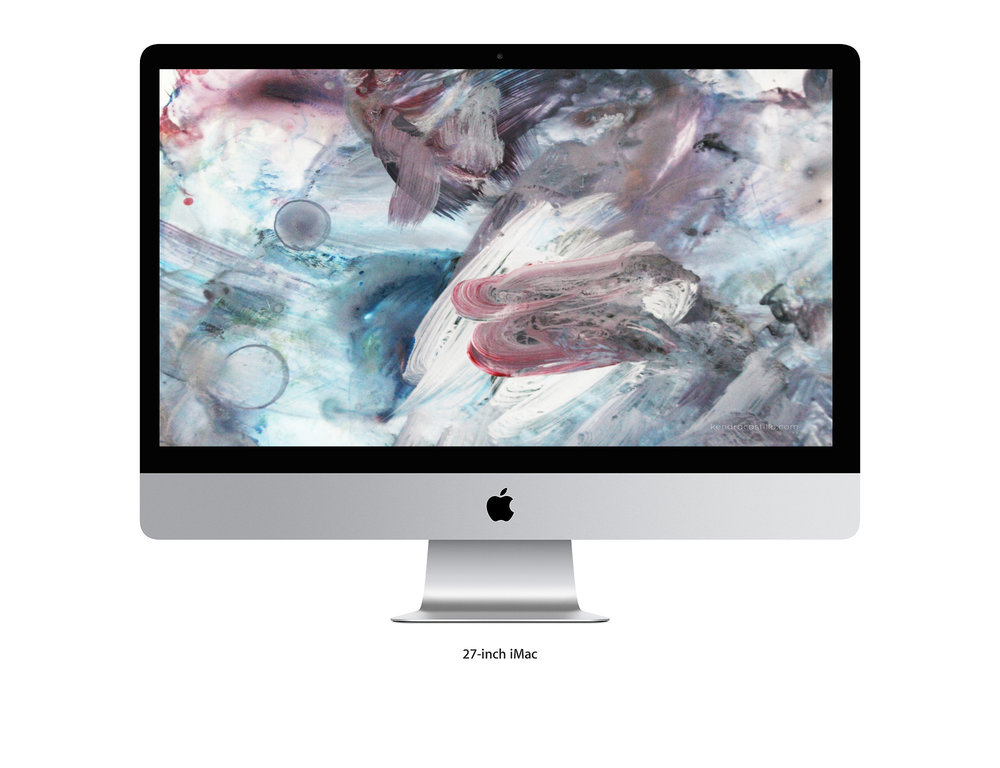Abstract Art Wallpaper - Kendra Castillo