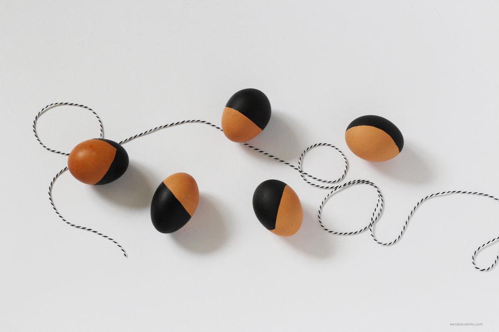 Modern Easter Eggs | KendraCastillo