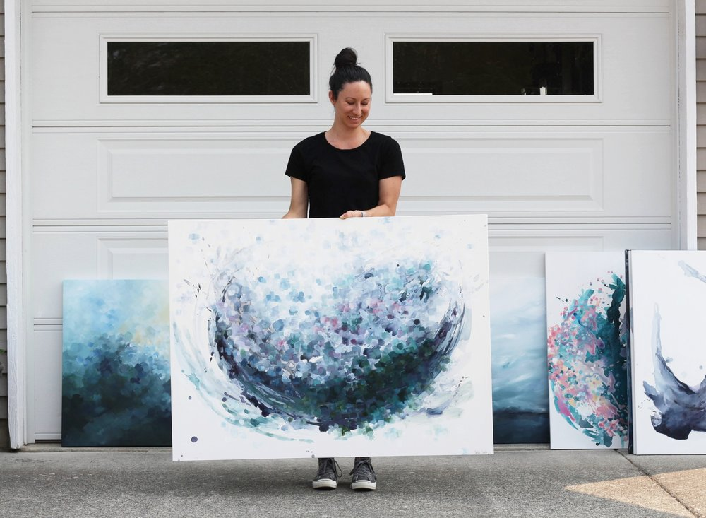 Original Paintings by Kendra Castillo