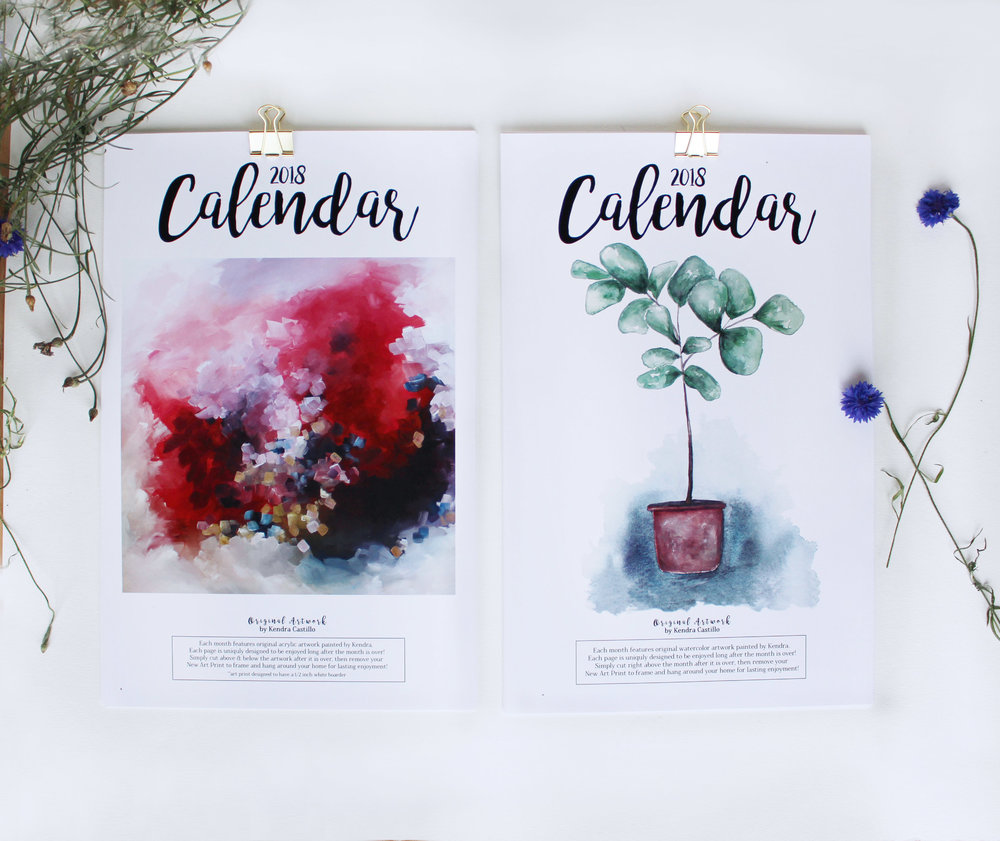 Plant and Abstract Calendar - Bundle Image.jpg
