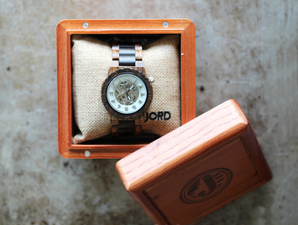 Jord Watch, Wooden Mens Watch | Kendra Castillo