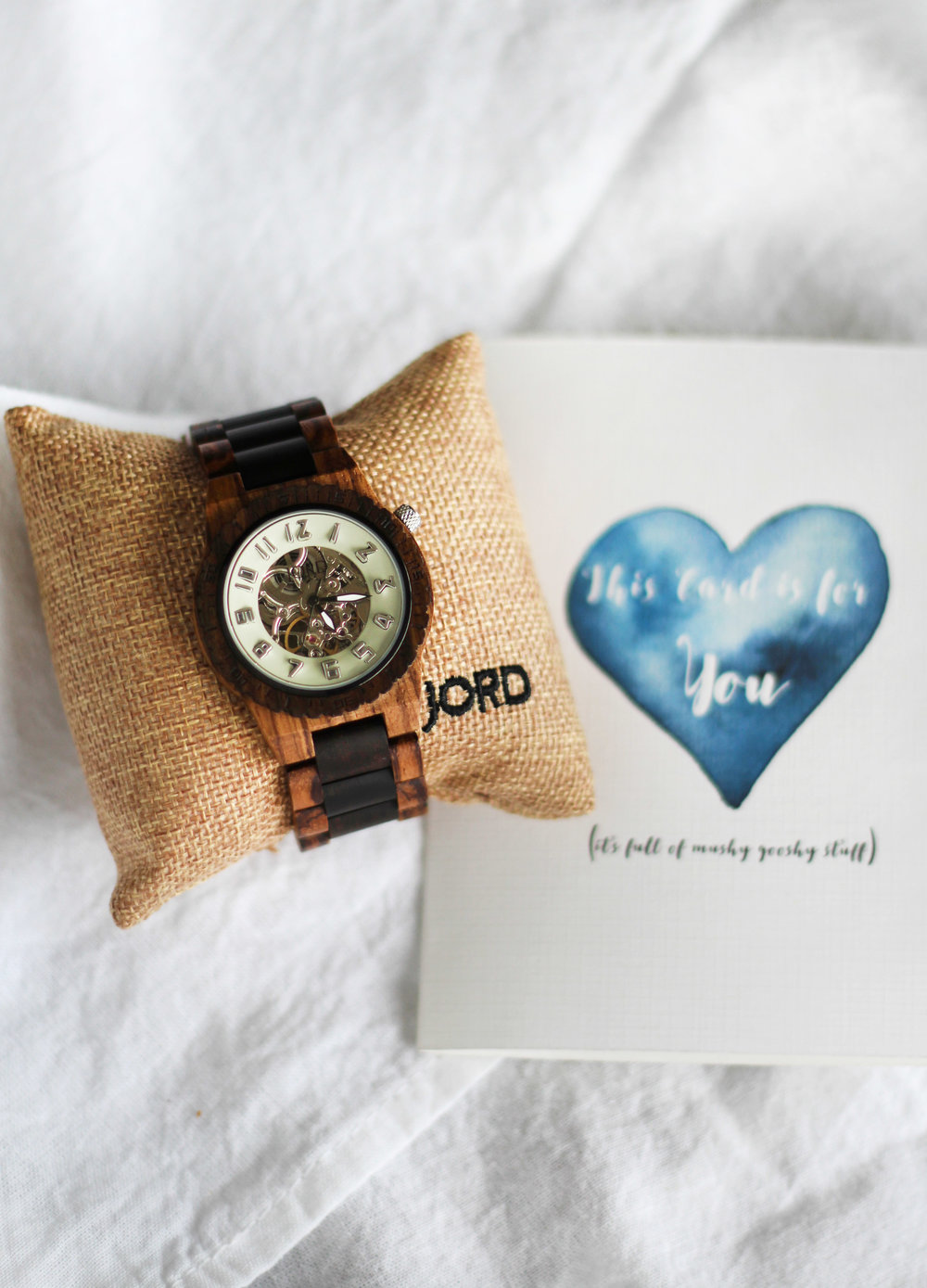 Best Wood Watch! Valentines Gift idea