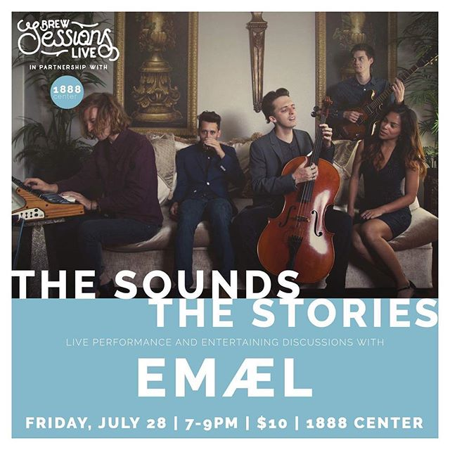 "EVENT ALERT: Be sure to reserve your tickets to the first event of our new local music series, entitled ""The Sounds The Stories"". In collaboration with the new and exciting @1888center, in @city_of_orange_ca the series aims to blend elements of a live performance with entertaining discussions amongst the audience and artist.  7/28/17 --- 7:00pm - 9:00pm --- $10 --- Orange, CA  The Sounds The Stories: EMAEL Ticket and Event Info: Check Bio for link  Facebook Event Title: The Sounds The Stories: EMÆL  This program is filmed and edited into a short documentary compilation with the audio from each episode recorded and archived as a free educational podcast  For more info about 1888center's Opening Weekend, please visit www.1888center.eventbrite.com --------------------------------------------------------The 1888 Center is located at the heart of the historic District in Old Towne Orange, California. The building, constructed in 1925, hosts a bookshop, gallery, multi-use performance space, and café serving creative beverages crafted by @contracoffeeandtea"