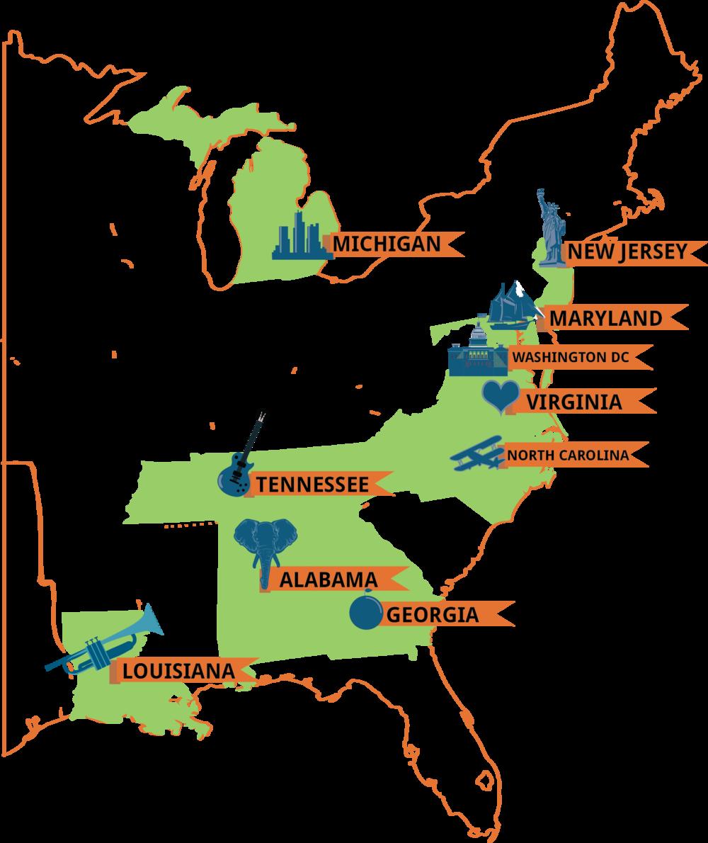 CES Service Areas