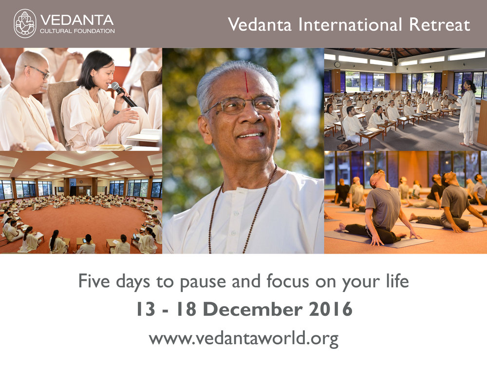 For more information visit vedantaworld.org