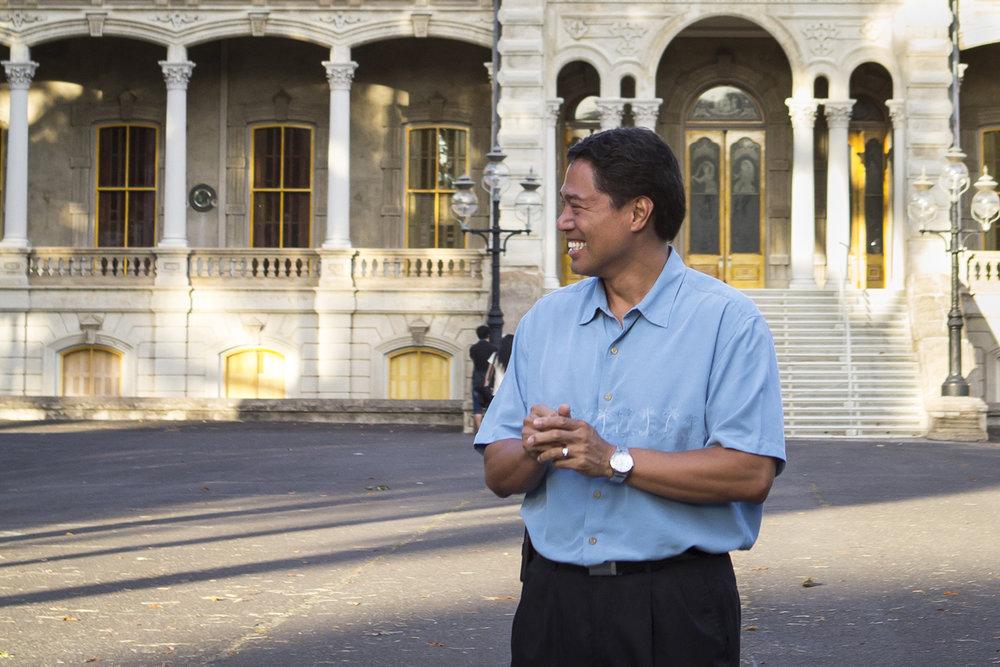 Iolani Palace Exec. Director: Kippen De Alba