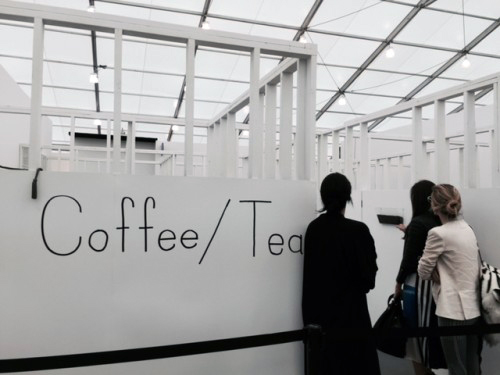 Exhibitor's Assistant at Frieze New York 2015