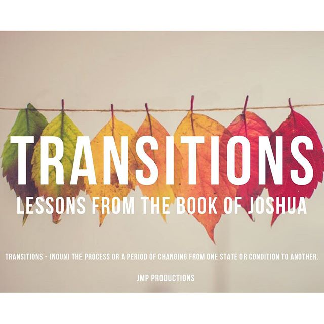 Transitions are a part of life... some are difficult but in partnership with God we can do all things! Come Join us tonight @8pm